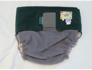 """Adult Reusable Waterproof Cover Grey/Green Large Waist 40""""-54"""" Rise 40"""""""