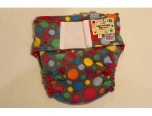 """Reusable Waterproof Cover Adult Sml /Lge Child-Polka dot Waist 28""""-36"""" Rise 30"""""""