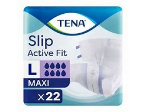 Tena Slip Maxi Active Fit Large  Case 3 pack of 22